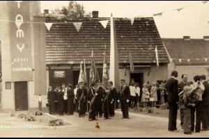 OSP Rozmierka w 1971 r. Uroczystość 50 lat istnienia