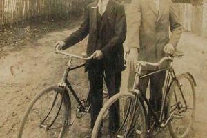 Josef Jendryka i Johann Dambietz. Rozmierka-Pasternik 1929 r.