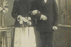 Pius Szczeponek i Otylia z d. Woitzik