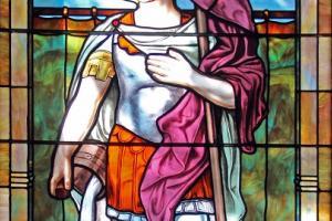 Święty Florian: kościół Świętego Krzyża w Yorktown (Texas, USA)
