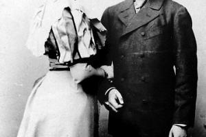 Hans Heinrich Graf Strachwitz (1866 - 1929) i Erna  Gräfin Francken-Sierstorph (1876 - 1957)