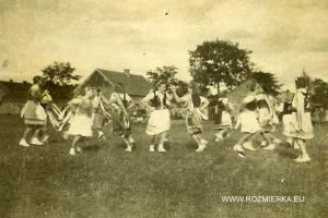 Maibaum w Rozmierce - przed 1945 roku