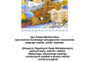 życzenia Sołtys i rada sołecka