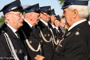 Strażacy z OSP Rozmierka