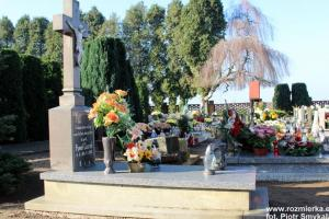 Cmentarz parafialny w Rozmierzy