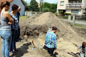 Ekshumacja szczątków żołnierzy niemieckich w Strzelcach Opolskich