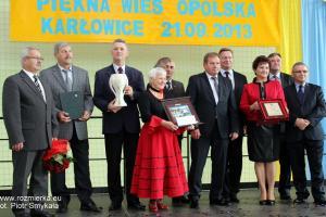Karłowice, gmina Popielów - I miejsce w kategorii ?Najpiękniejsza Wieś?,