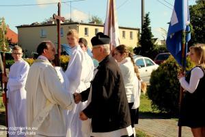 Przywitanie wiernych z Suchej