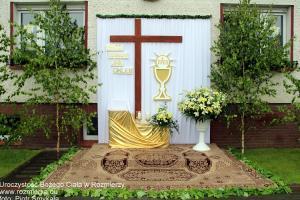 Uroczystość Bożego Ciała w Rozmierzy