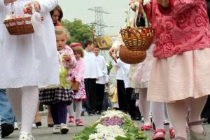Uroczystość Bożego Ciała w Olszowie