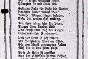 Wiersz o Kalinowicach z 1927 r.