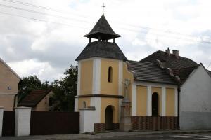 Kapliczka pw. Matki Boskiej Częstochowskiej. Rok 2008