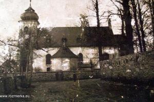 Kościół w Rozmierzy - rok 1932