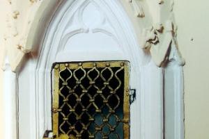 Gotyckie tabernakulum z drugiej połowy XIV w.