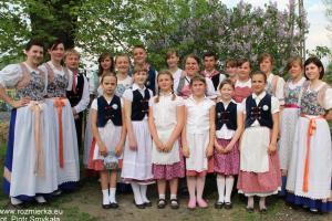 Zespół taneczno-wokalny ?Silesia? z Rozmierki