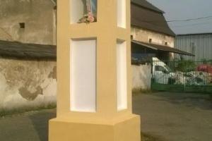 Kapliczka po remoncie